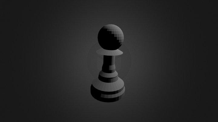 Chesspawn 3D Model
