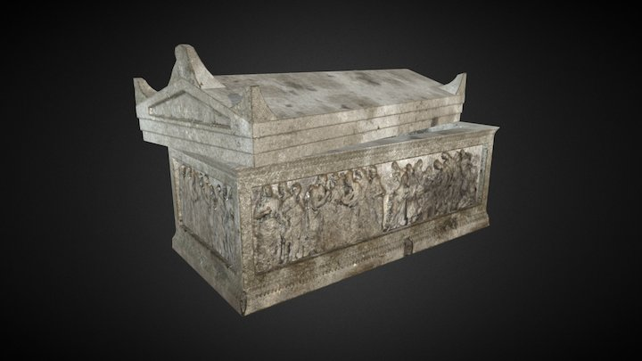 Sarcophagus 01 3D Model
