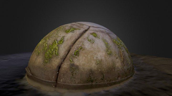 Moeraki Boulder - Closed 3D Model