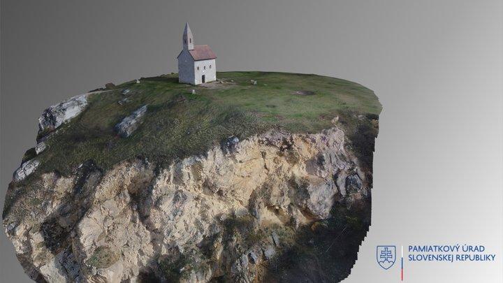Dražovce - kostol sv. Michala 3D Model