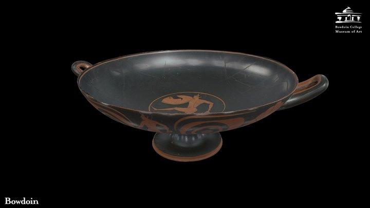 Attic Red-Figure Eye Cup 3D Model