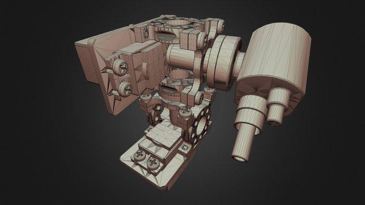 Robot Station 3D Model