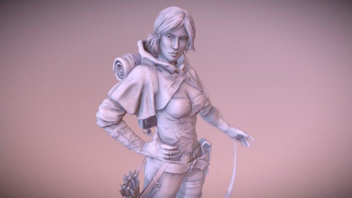 """Fan art """"Guild of Heroes"""" 3D Model"""
