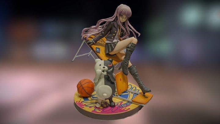 Kyouko Kirigiri figure from Danganronpa 3D Model