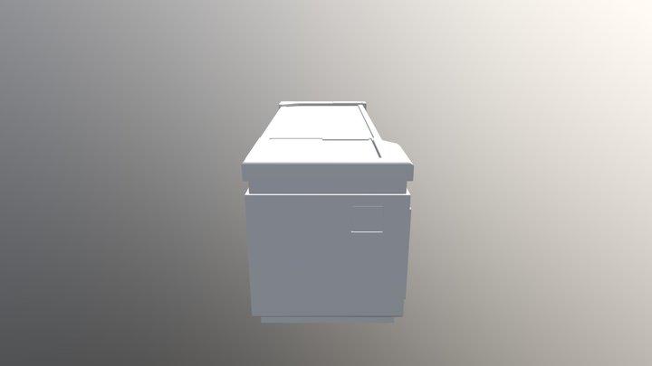 Concept desk 3D Model