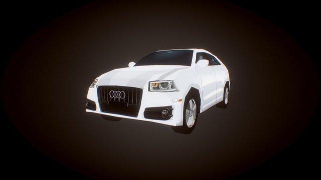 Audi Q3 for AR 3D Model