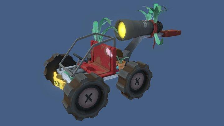 Adventure car 3D Model