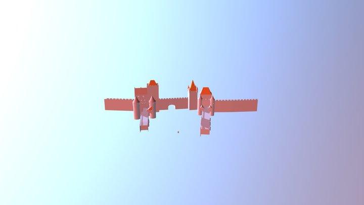 Rood Dak Tolsteeg 3D Model