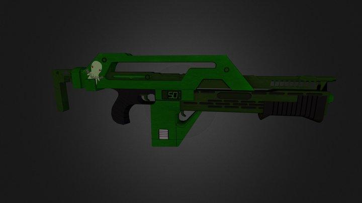M41(Cthulu) 3D Model