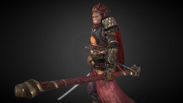 Wukong, Journey The West 3D Model