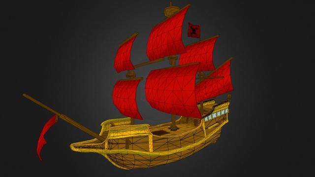 Ashara's Ship 3D Model