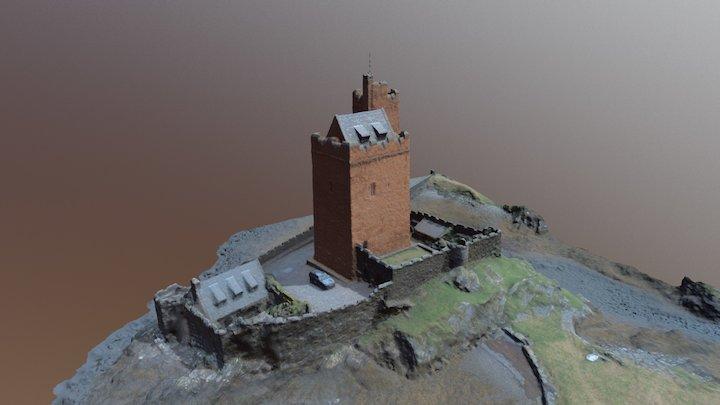 Kilcoe Castle, Ireland 3D Model