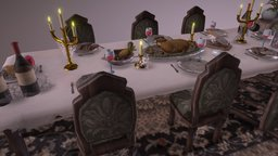 A dinner to die for 3D Model