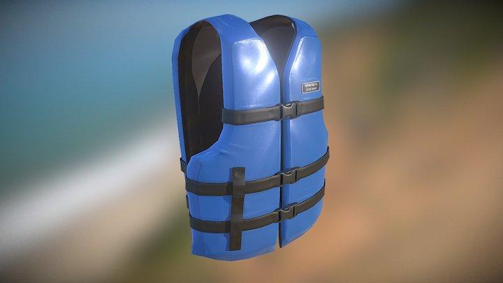 Life Vest / Life Jacket 3D Model
