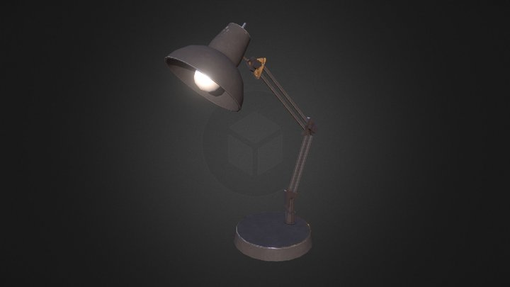 Desk Light 3D Model