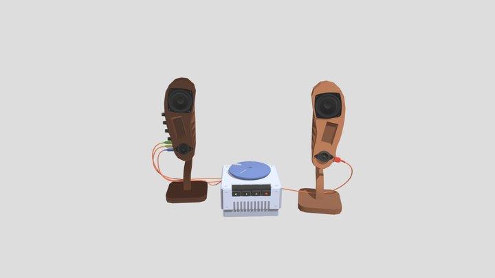 HW [XYZSchool] Detailing Speaker 3D Model
