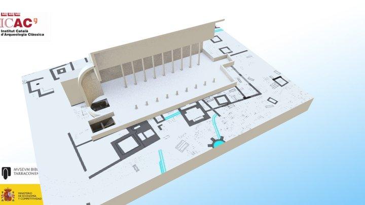 Basilica of Saint Fructuosus, Tarragona 3D Model