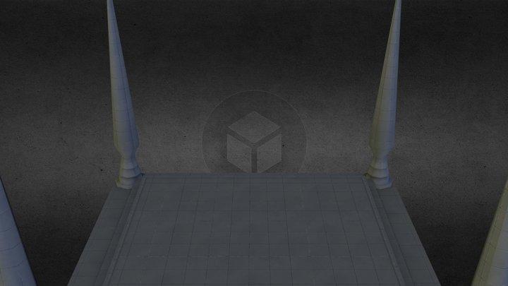 DBZ stage 3D Model