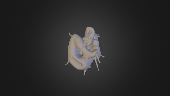 Hell Boy 3D Model