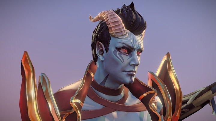 King of Pain 3D Model