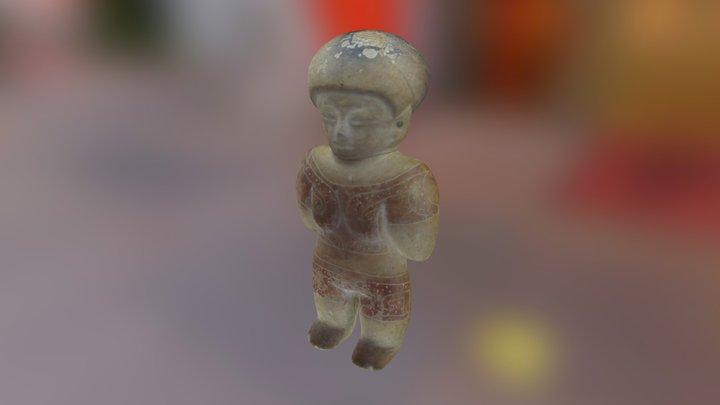 Ceramica antropomórfica C-1-9-82 3D Model