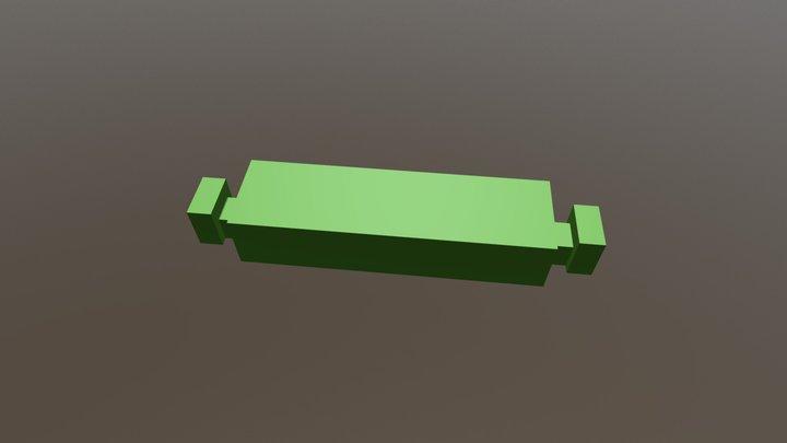 extension for connectors (50mm) 3D Model
