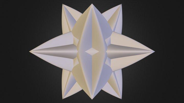 star test.obj 3D Model