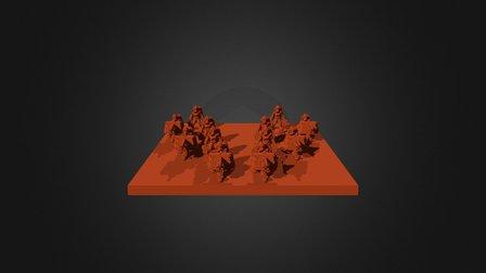 Junker Legionary Armiger 3D Model