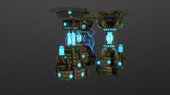 Mana-Reactors 3D Model