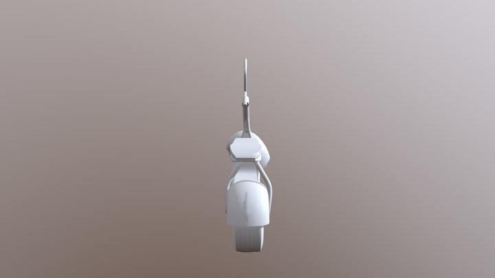 Escooter 3D Model