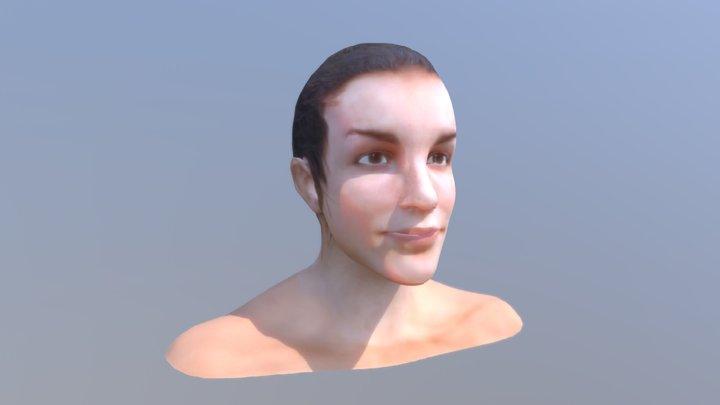 Jade Zbrush model Sketchfab 3D Model