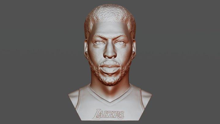 Anthony Davis bust for 3D printing 3D Model