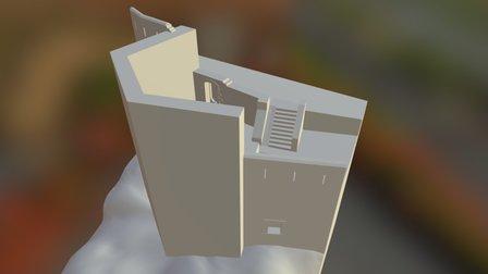 Carraixet Tower (Morella, Spain) 3D Model