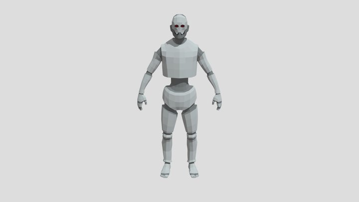 Warforged golem basemesh 3D Model