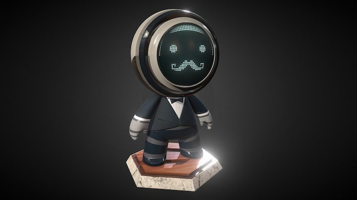 Substance Butler - Meet MAT Contest 3D Model
