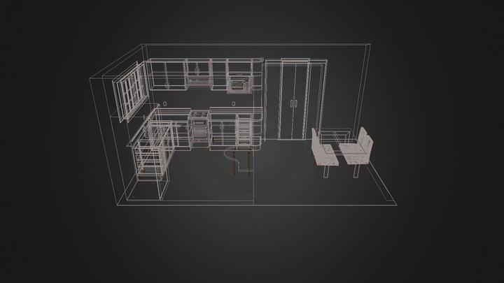 Projeto Cozinha Dione 3D Model
