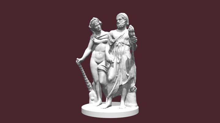 84835 NAP Hercules Omphale 3D Model