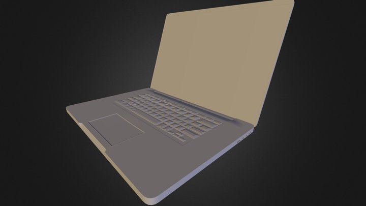 Laptop test 3D Model