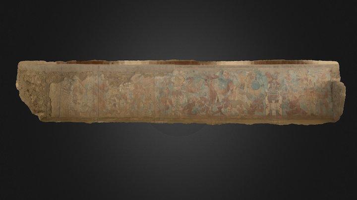 Cacaxtla Battle Mural (left side)