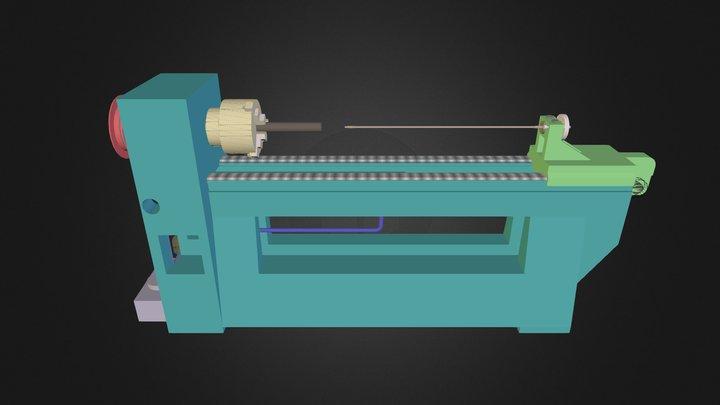 Riflingmachine 3D Model