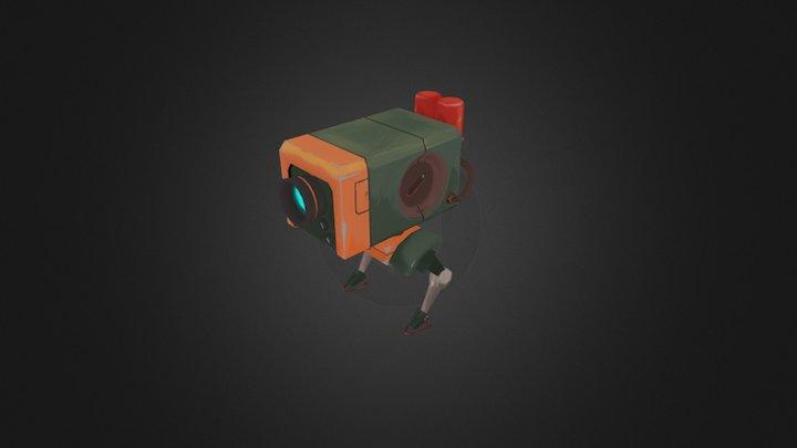 Box Bot 3D Model