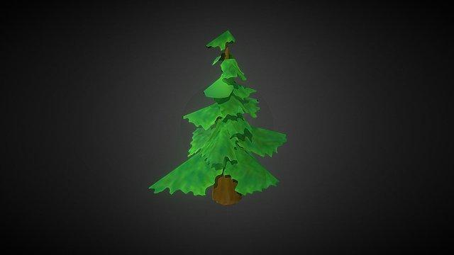 Leaf Tree 3D Model