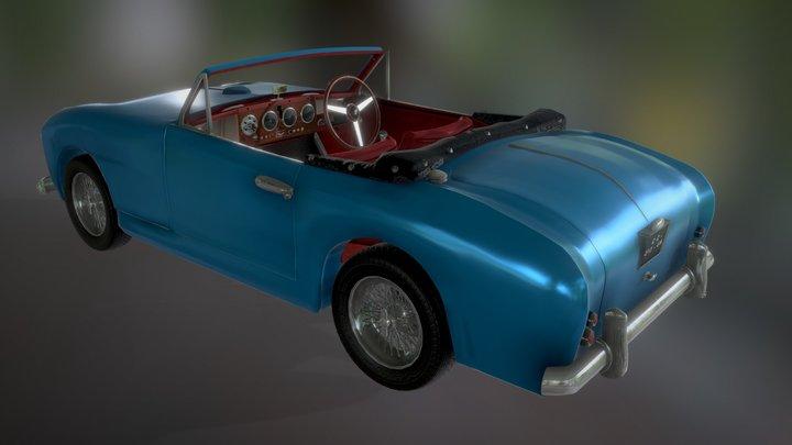 Aston Martin db 2/4 Drophead 1955 (wip) 3D Model