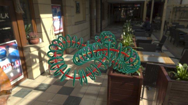 Knotspokesanimation2 3D Model