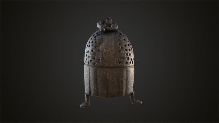 4 - Incense Burner 3D Model