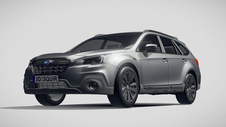 Subaru Outback EU 2019 3D Model