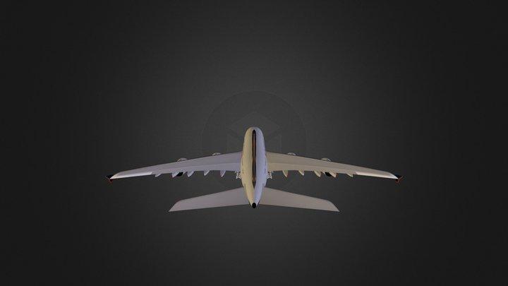 A380 3D Model