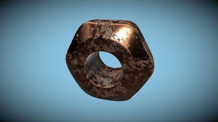 Rusted screw [v1] 3D Model