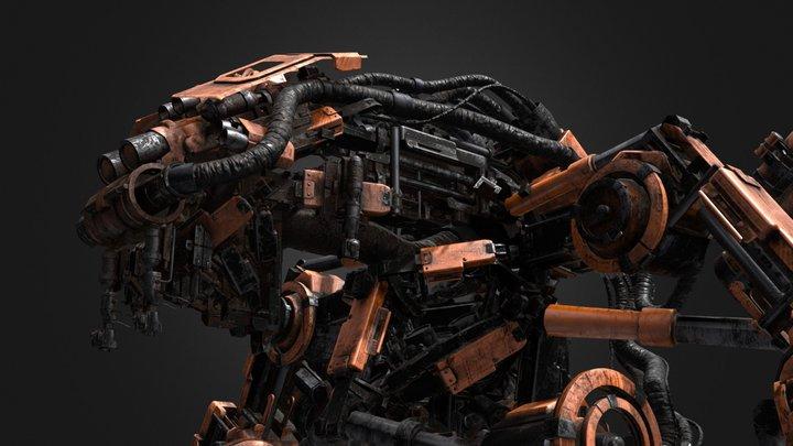 Pneaumatic Robot 3D Model