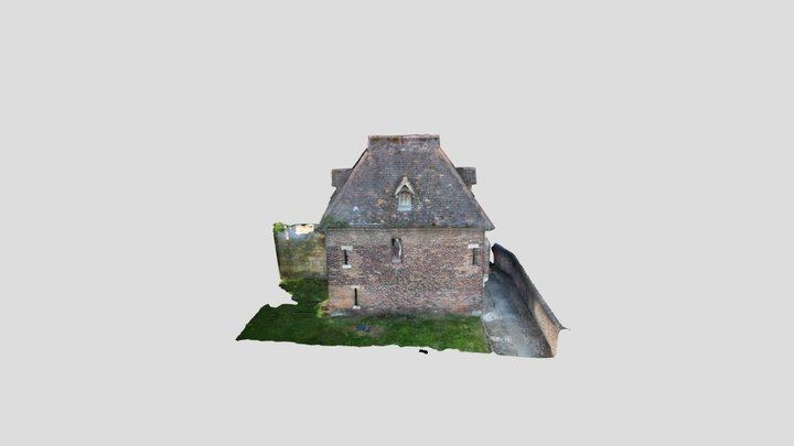 York Walls Red Tower 3D Model